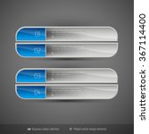 business banners on the dark... | Shutterstock .eps vector #367114400