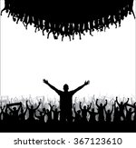 banner for music concerts and... | Shutterstock .eps vector #367123610
