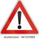 road sign used in italy   other ... | Shutterstock . vector #367147883