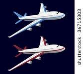 airplane | Shutterstock . vector #36715303