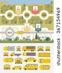 set vector illustration stock... | Shutterstock .eps vector #367154969