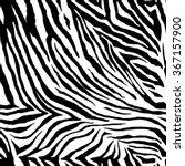 zebra pattern. seamless vector... | Shutterstock .eps vector #367157900