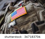 Plate carrier with usa flag...
