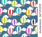 vector seamless pattern with... | Shutterstock .eps vector #367192259