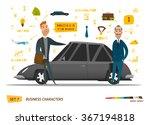 business characters scene | Shutterstock .eps vector #367194818