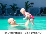 young active father playing... | Shutterstock . vector #367195640