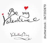 handmade vector lettering for...   Shutterstock .eps vector #367202870