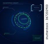 hud  head up display  interface ... | Shutterstock .eps vector #367202903