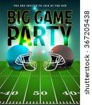 american football big game...   Shutterstock .eps vector #367205438