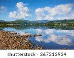 Beautiful Scene The Lake...