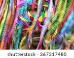 rio carnival scene features... | Shutterstock . vector #367217480