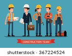 cool vector concept layout on... | Shutterstock .eps vector #367224524