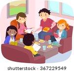 stickman illustration of... | Shutterstock .eps vector #367229549
