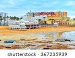 a panoramic view of la caleta...   Shutterstock . vector #367235939