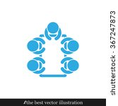 people around the table icon... | Shutterstock .eps vector #367247873