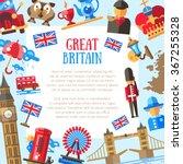 great britain vector flat... | Shutterstock .eps vector #367255328