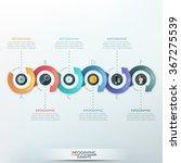 modern infographics options... | Shutterstock .eps vector #367275539