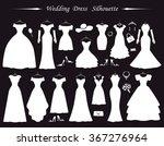 wedding dresses fashion bride... | Shutterstock .eps vector #367276964