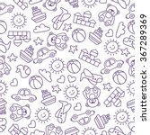 children's pattern | Shutterstock .eps vector #367289369