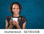 young african businesswoman... | Shutterstock . vector #367301438