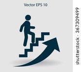 career ladder vector icon | Shutterstock .eps vector #367309499