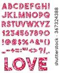 vector alphabet of various... | Shutterstock .eps vector #367324388