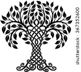 vector ornament  decorative... | Shutterstock .eps vector #367352600