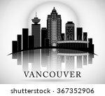 Modern Vancouver City Skyline...