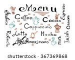 collection of hand drawn...   Shutterstock .eps vector #367369868