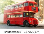 Red Double Decker Bus In Londo...