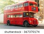 Red Double Decker Bus In Londo...
