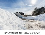 Piles Of Snow After The...