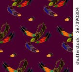 vector seamless pattern with... | Shutterstock .eps vector #367390304