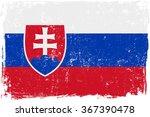slovakia vector grunge flag...   Shutterstock .eps vector #367390478