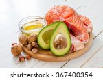 selection of healthy fat... | Shutterstock . vector #367400354
