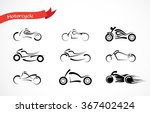 vector silhouette  of classic...