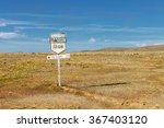 Antique Route 40 Sign  Bajo...