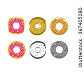 Donut Vector Illustration ...