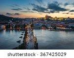 Prague Cityscape  Panorama...