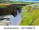 Grandiose Gullfoss In Iceland....