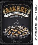 vintage bakery poster. freehand ...   Shutterstock .eps vector #367454060