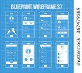 mobile wireframe app ui kit 37. ...