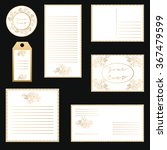 vector set letterhead  labels ... | Shutterstock .eps vector #367479599