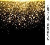 gold glitter dust texture.gold... | Shutterstock .eps vector #367481894