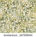 watercolor painting. yellow... | Shutterstock . vector #367500044