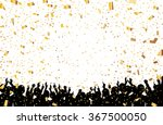 a crowd of people. vector... | Shutterstock .eps vector #367500050