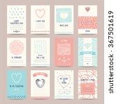 valentine's day  wedding... | Shutterstock .eps vector #367501619