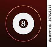 billiards icon | Shutterstock .eps vector #367528118