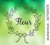 floral shop    logo  poster ...   Shutterstock .eps vector #367534370