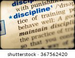 close up of word in english... | Shutterstock . vector #367562420